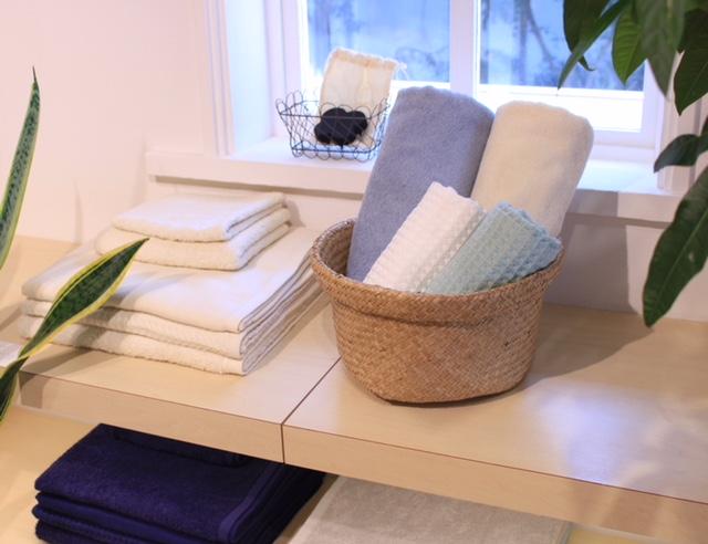 お気に入りのタオルを、贈りたい方にあわせてコーディネートできます