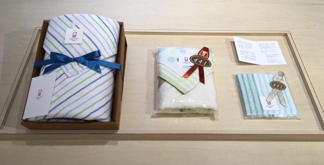 Linen border Mini Towel/リネンボーダーミニタオル