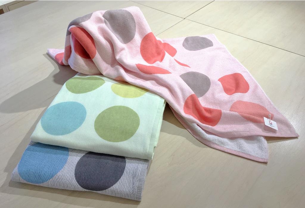 3colors circle  Mini Blanket / 3カラーズ サークル ミニブランケット